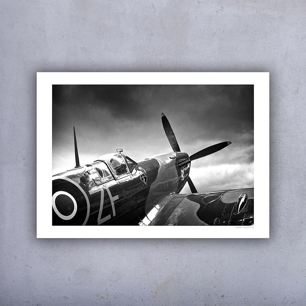 Plakat Samolot Spitfire