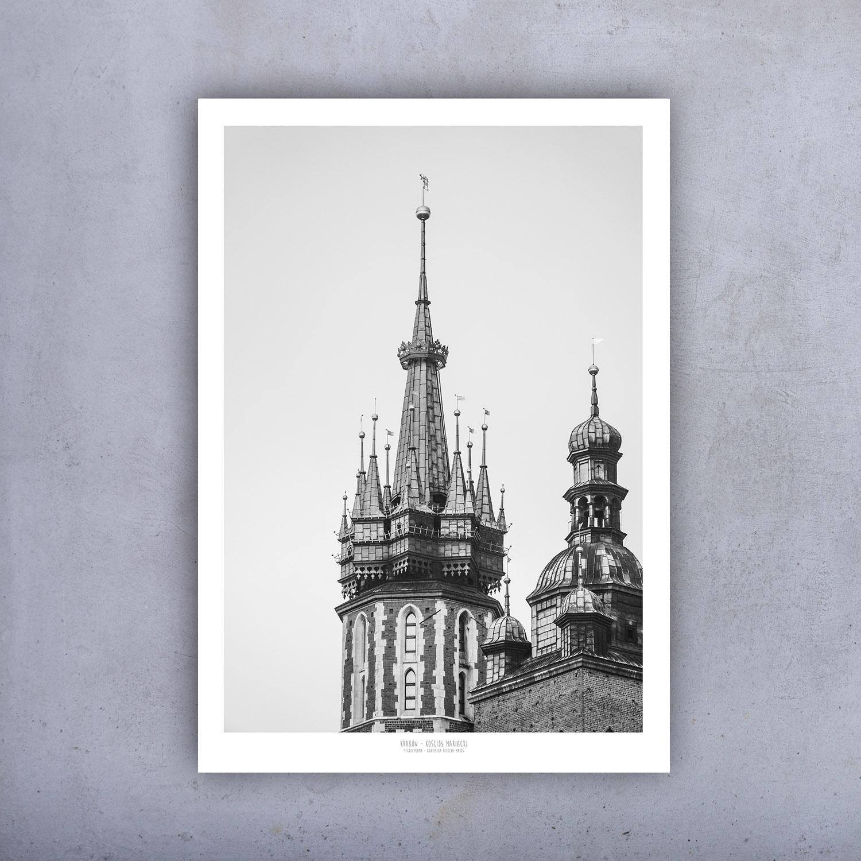 Plakat Kraków Kościół Mariacki 02